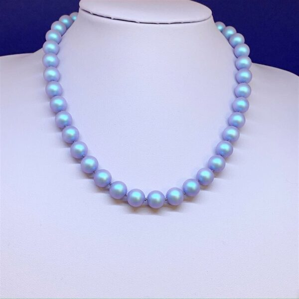 Swarovski crystal pearl necklace