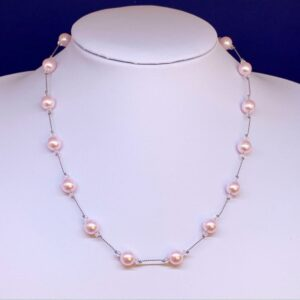 Swarovski pearl crystal necklace
