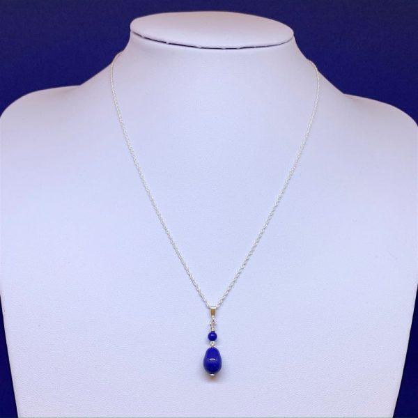 Swarovski crystal pearl pendant